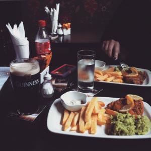 Devitts Pub Dublin - Fish & chips