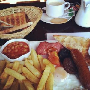 Devitts Pub Dublin - Full Irish breakfast