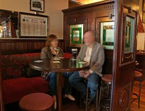 Devitts Pub Dublin - Locals enjoying a pint