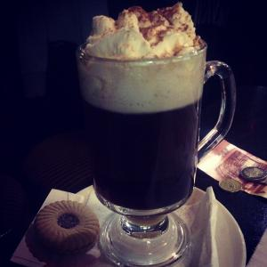 Devitts Pub Dublin - Irish coffee