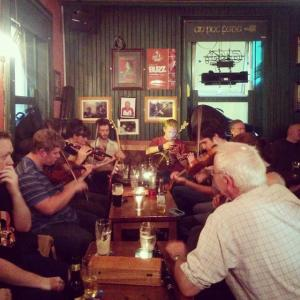 Devitts Pub Dublin - Trad session